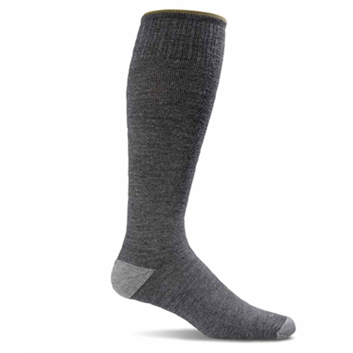 Sockwell Men's Elevation Graduated Compression Socks - Grey, Large/XLarge