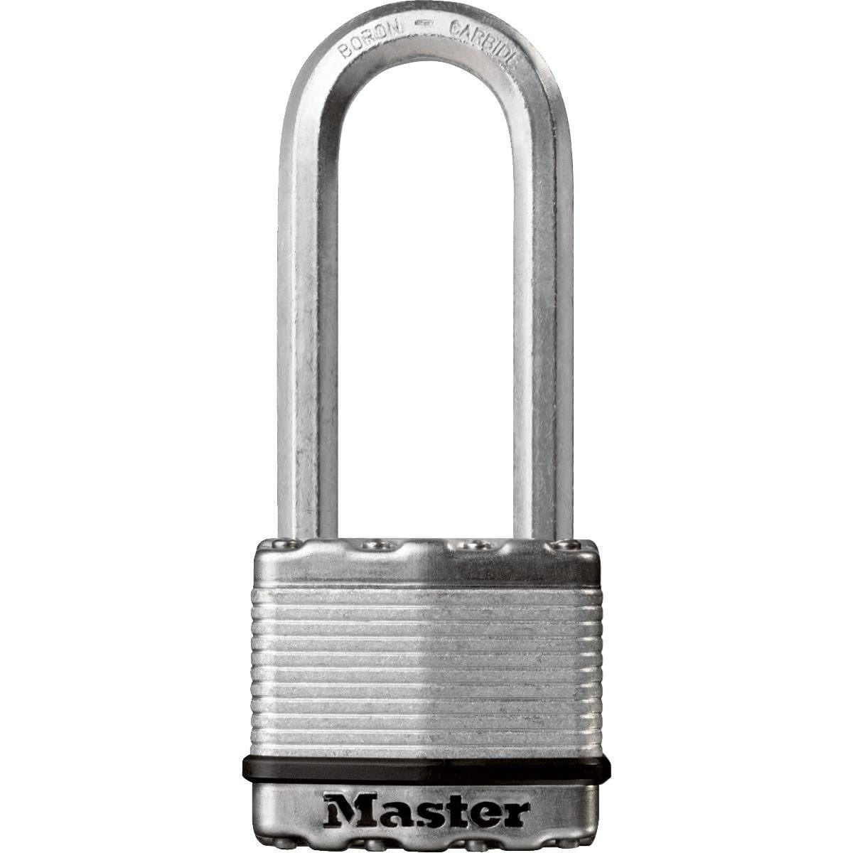 "Master Lock Magnum Laminated Padlock - 2"", with 2-1/2"" Boron Shackle"