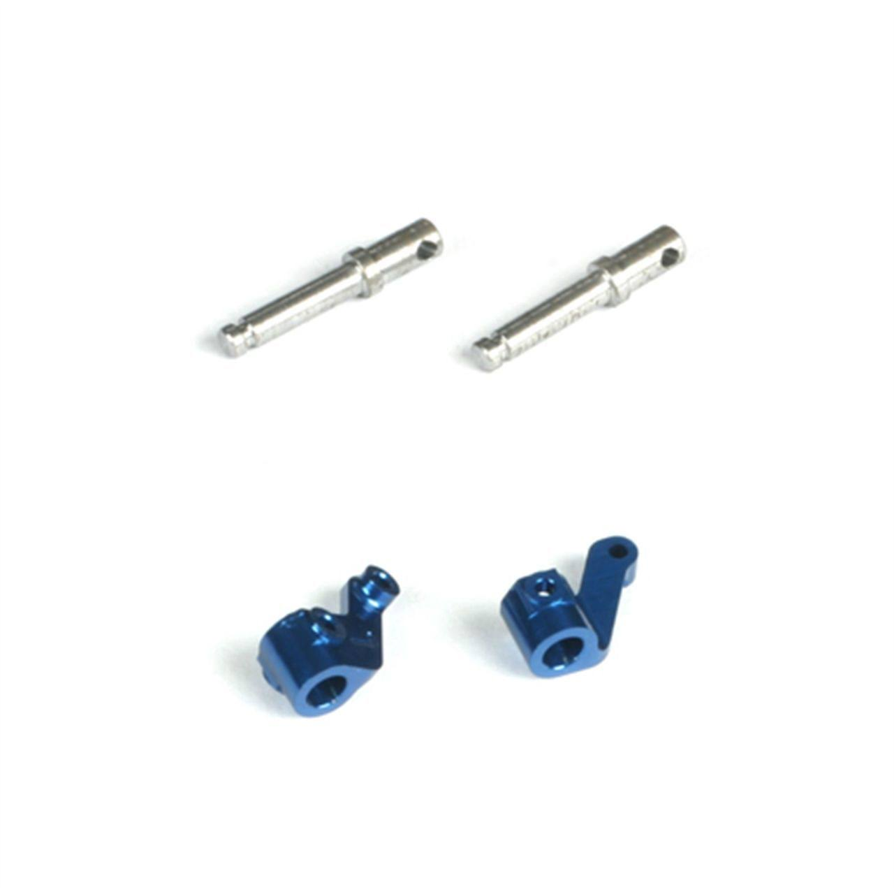 Losi Front Spindle Set, Aluminum: Micro-T/B/DT LOSB1533