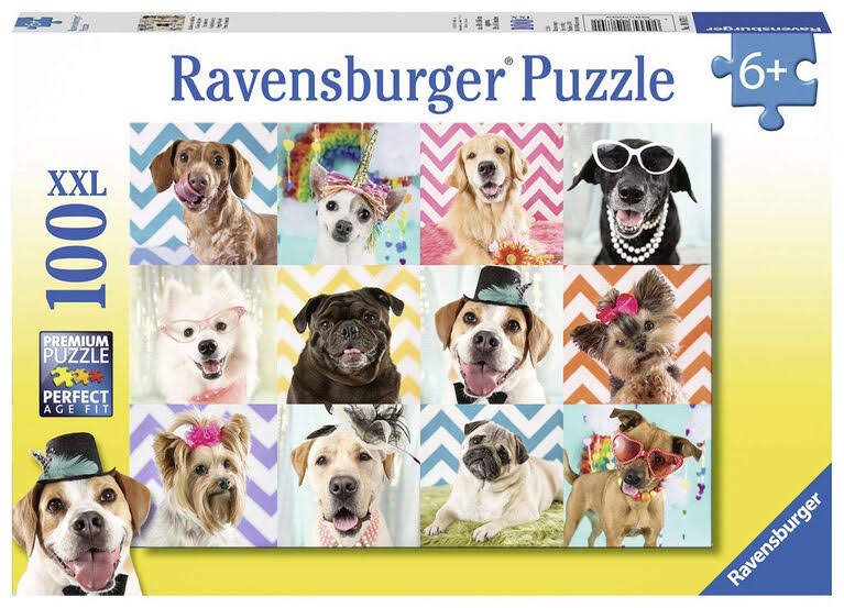 Ravensburger Prehistoric Animals Puzzle - 100pcs
