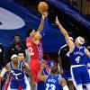 GRADES: Philadelphia 76ers 107, Los Angeles Lakers 106