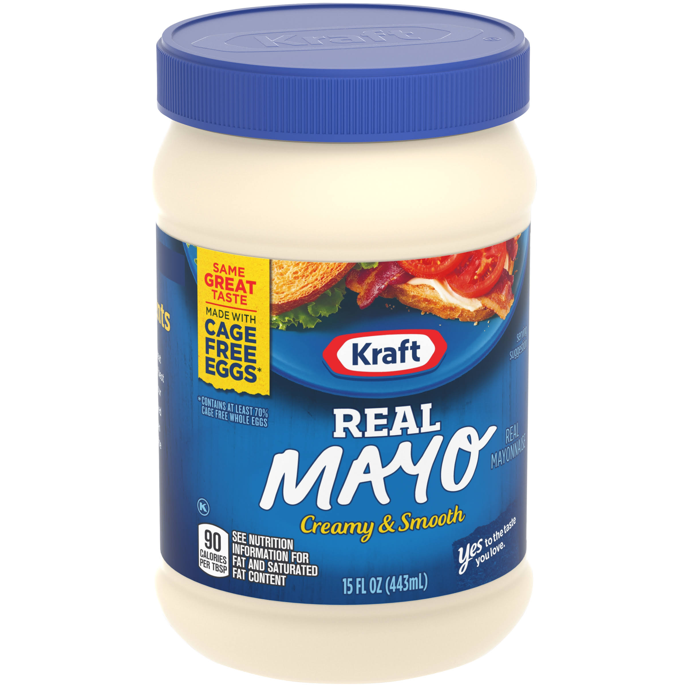 Kraft Real Mayonnaise - 15oz
