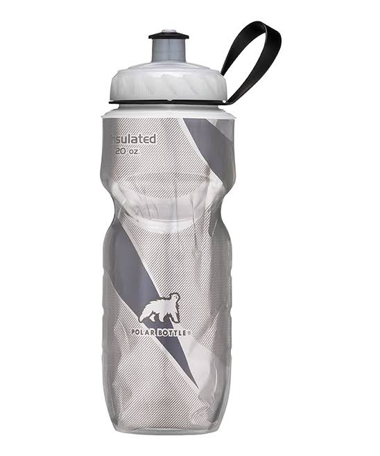 Polar Bottle Insulated Water Bottle - 20oz, White