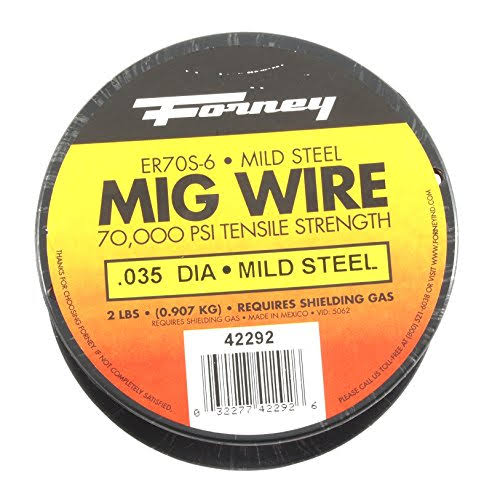 Forney Industries Mig Spool Wire - 2lb, .035 Diameter