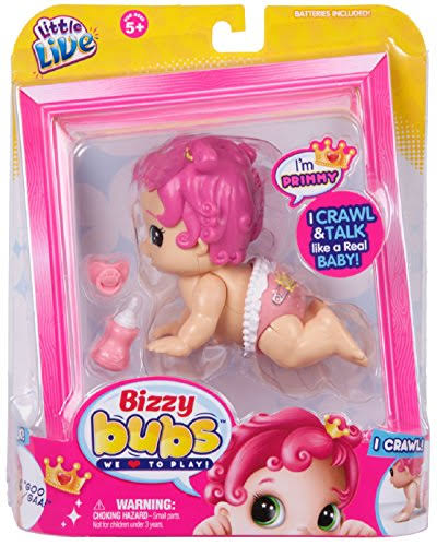 Little Live Bizzy Bubs Crawling Baby Primmy Doll