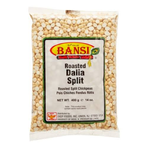 Bansi Roasted Dalia Split Roasted Split Chickpeas, 14.1 oz