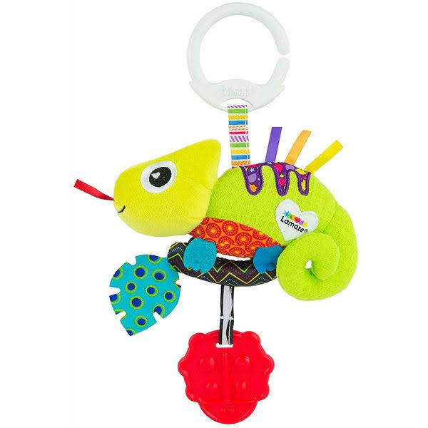 Lamaze Mini Clip and Go Baby Toy - Chameleon