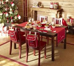 Dining Room Table Decorating Ideas Pictures by Top Red Christmas Decorations Ideas Christmas Celebrations