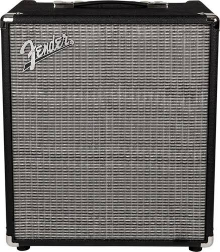 Fender Rumble Bass Combo Amplifier - Black & Silver