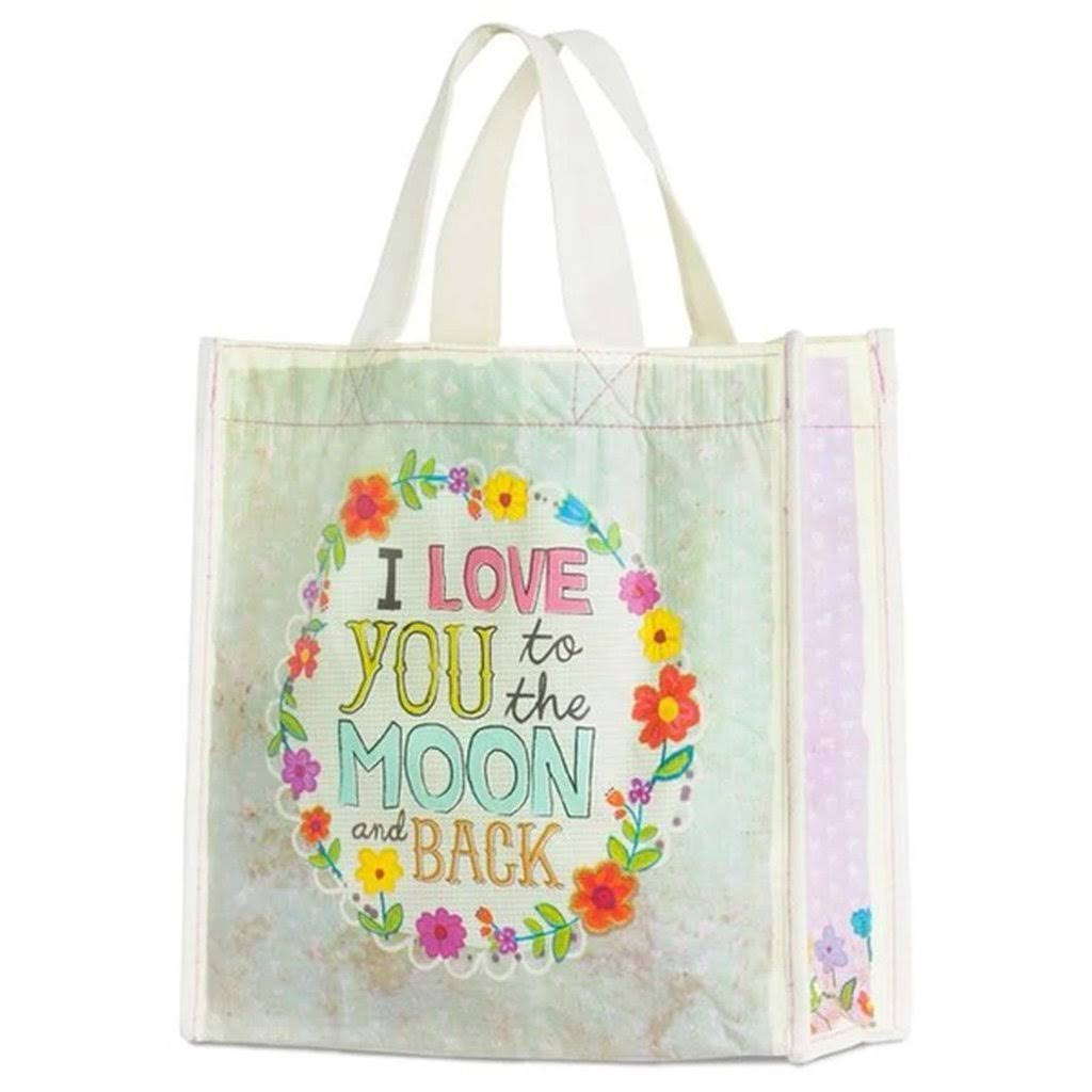 Natural Life Love You to The Moon Gift Bag, Medium