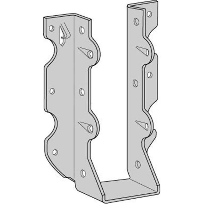 "USP Structural Connectors Triple Zinc Galvanized Face Mount Joist Hanger - 2"" x 10"""