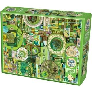 Cobble Hill 1,000-Piece Jigsaw Puzzle Puzzles, Green