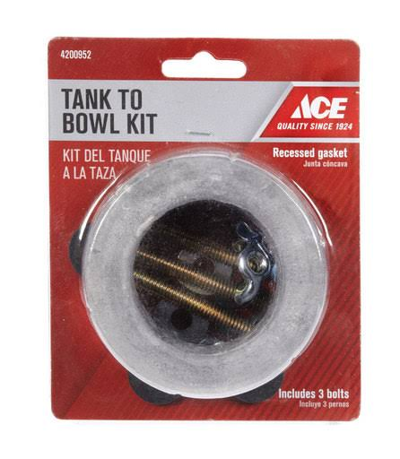 Ace Tank To Bowl Gasket And 3 Bowl Kit