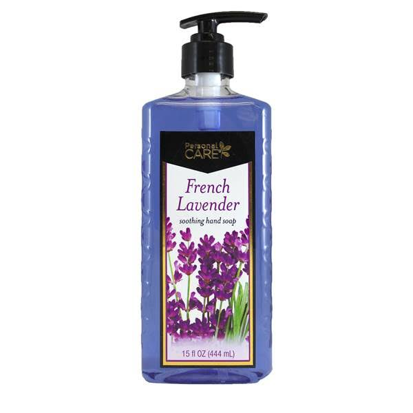Personal Care 15 oz. French Lavender Hand Soap with Pump