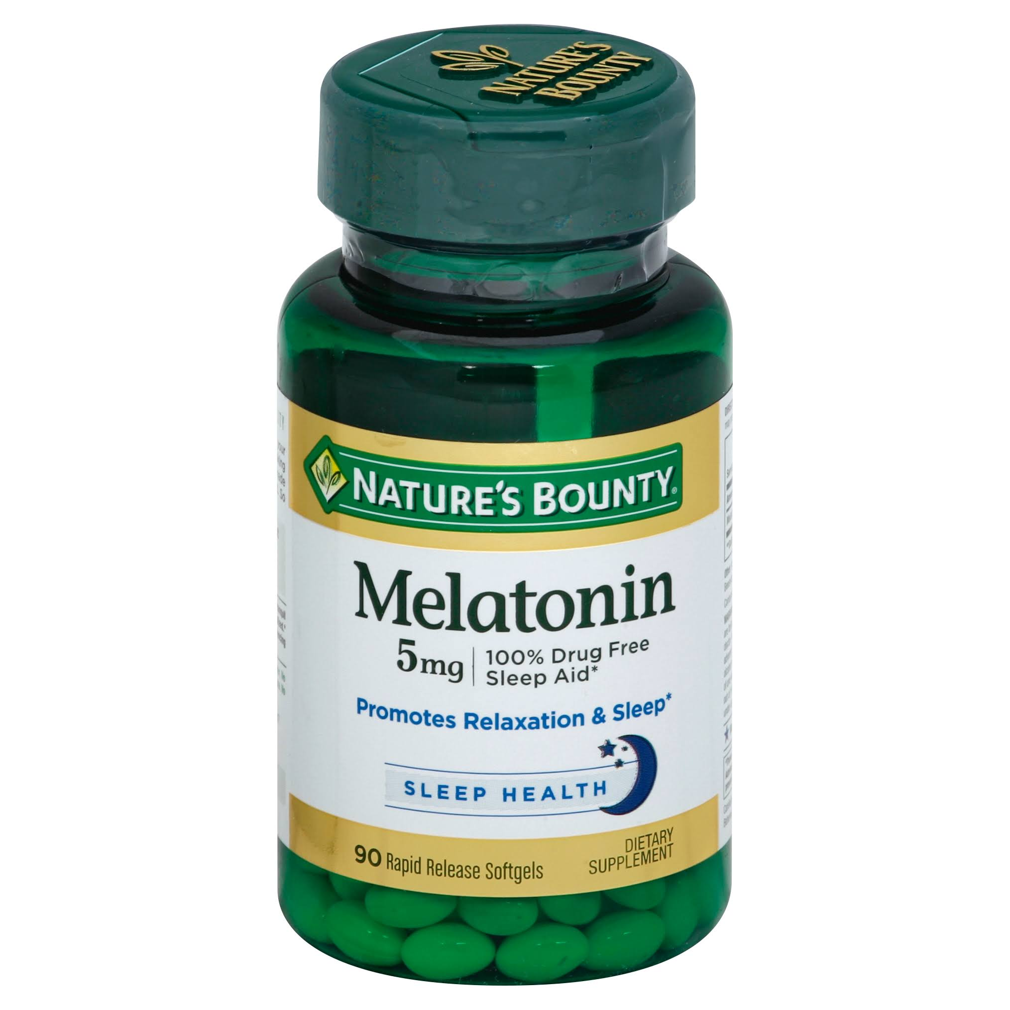 Nature's Bounty Melatonin Rapid Release Softgels