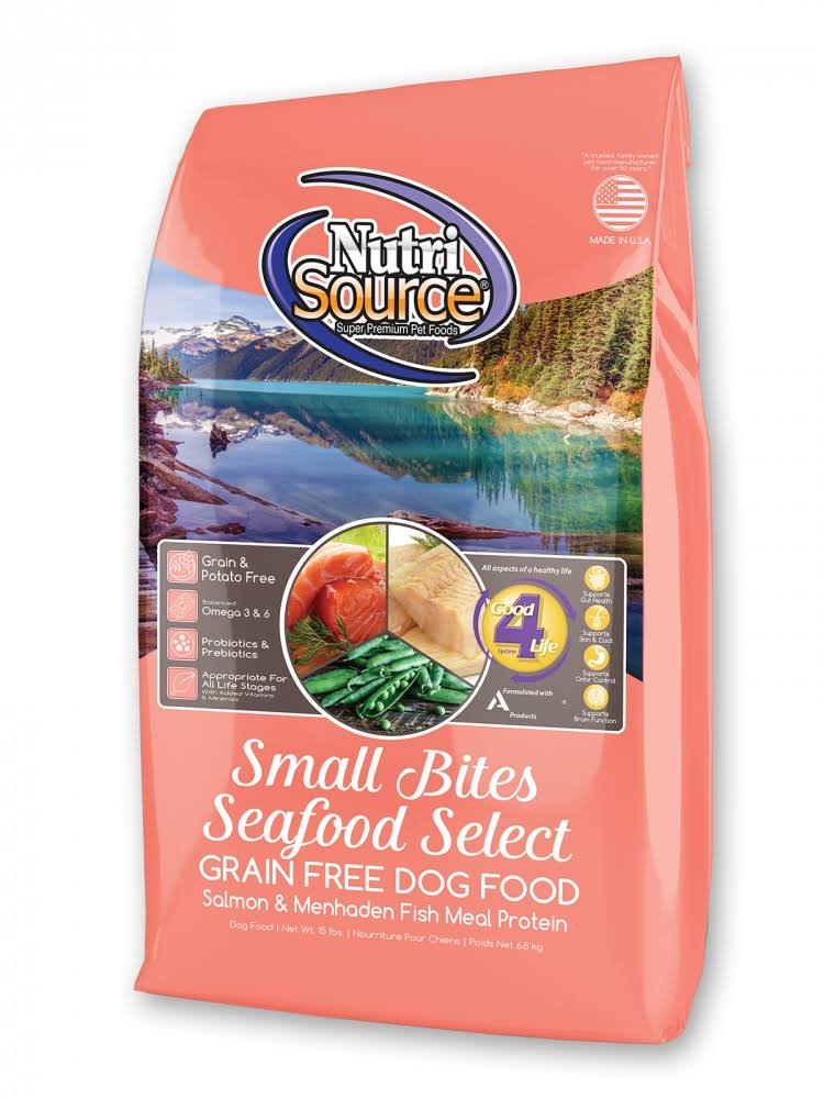 Nature's Variety Nutri Source Small Breed Seafood Select Grain Free Dog Food