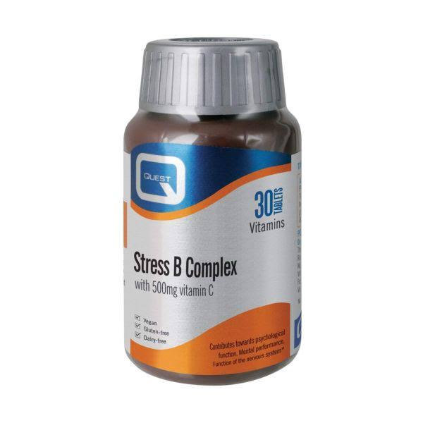 Quest Stress B Complex (30 Tablets)