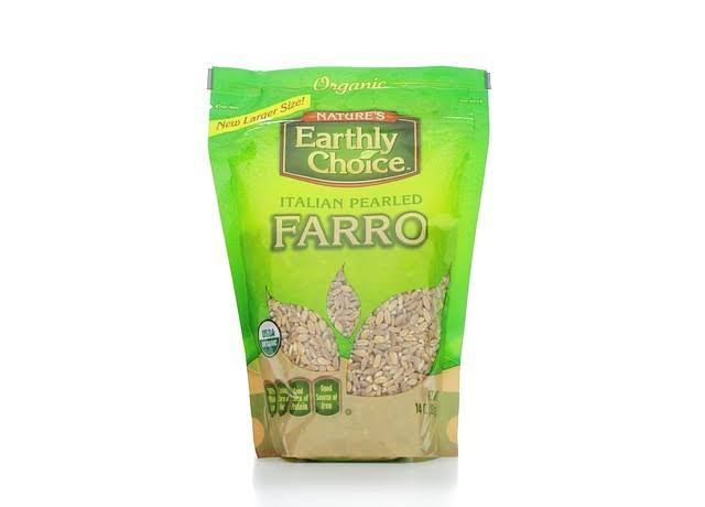 Nature's Earthly Choice Organic Italian Pearled Farro - 350ml
