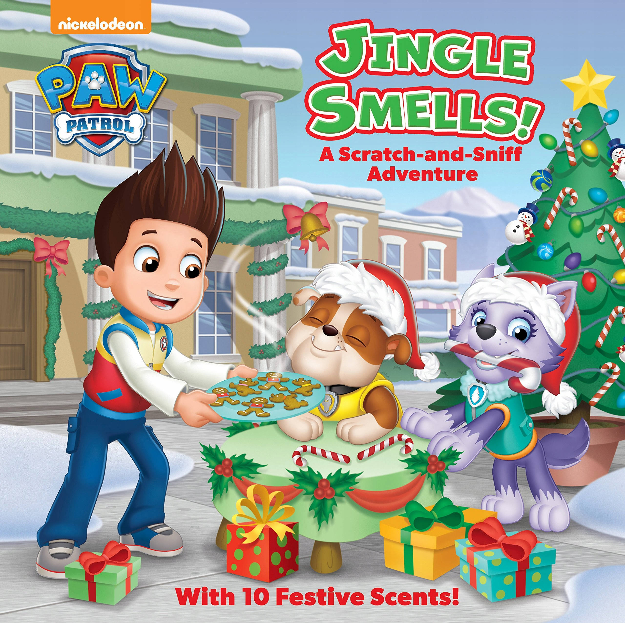 Jingle Smells!: A Scratch and Sniff Adventure - Random House