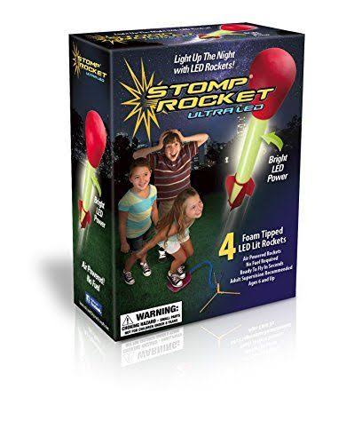 D & L Company Stomp Rocket Ultra Led - 4 Rockets