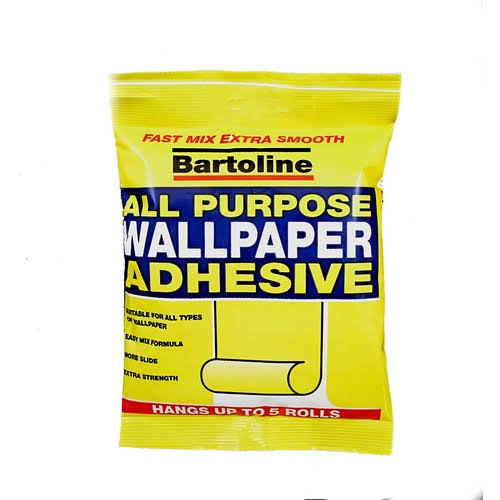 Bartoline All Purpose Wallpaper Adhesive - 5 Roll Bag