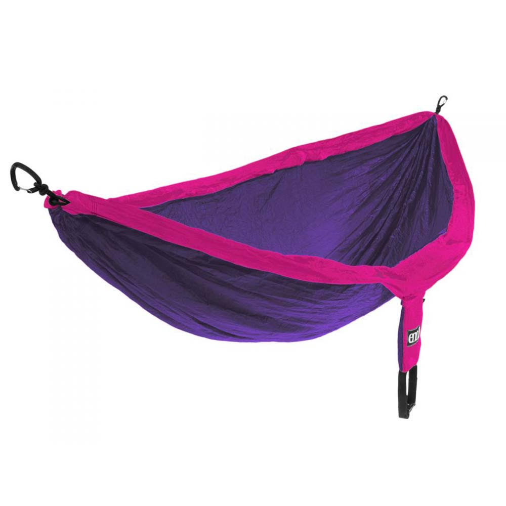 ENO Double Nest Outdoor Hammock - Purple & Fuchsia