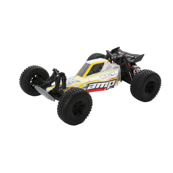 ECX DB 2WD Desert Buggy Truck - White & Red, 1/10 Amp