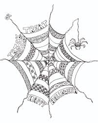 Scary Halloween Coloring Pages Online by Best Scary Halloween Coloring Pages For Adults Archives Free