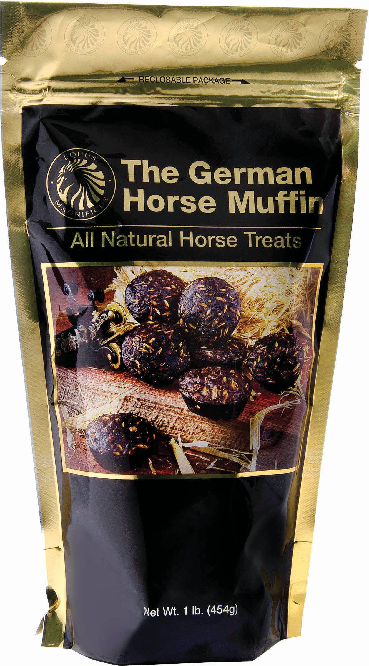 The German Horse Muffin Whole Grain Horse Treats - 1lb