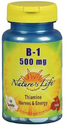 Nature's Life B-1 500mg Tablets - x50