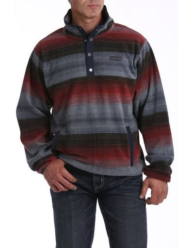 Cinch Men's Printed Polar Fleece Pullover