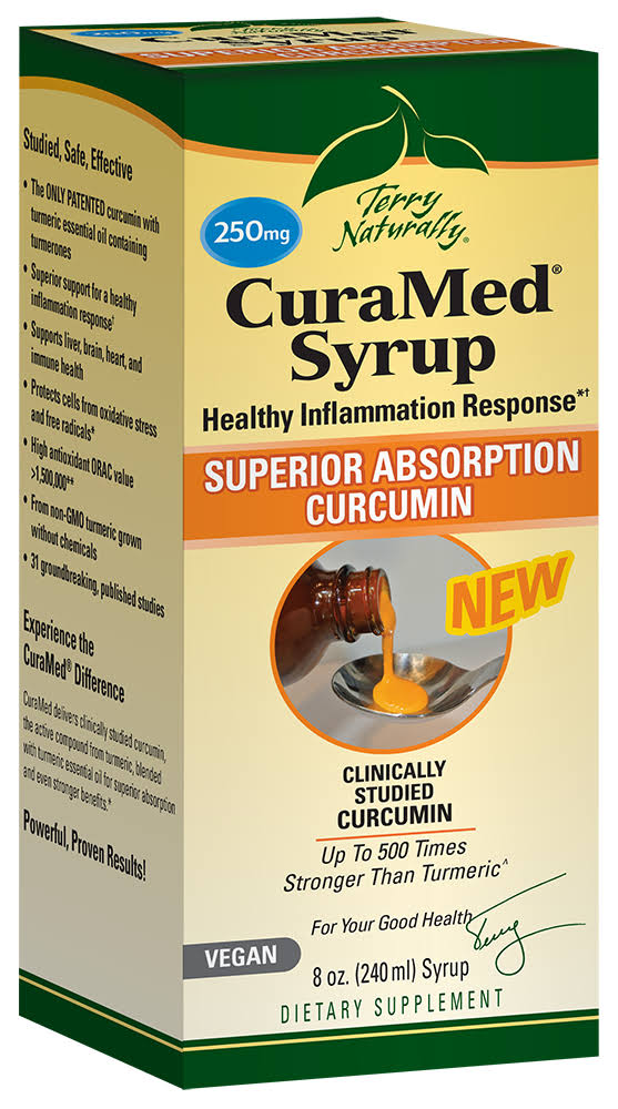 Terry Naturally CuraMed Syrup 8 oz