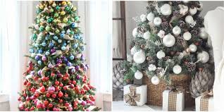 Pine Cone Christmas Trees For Sale by 35 Unique Christmas Tree Decorations 2017 Ideas For Decorating