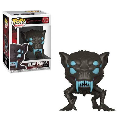 Funko Pop Castlevania Vinyl Figure - Blue Fangs, 9cm