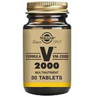 Solgar VM-2000 Formula Dietary Supplement - 30 Tablets