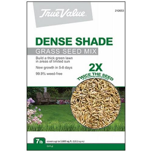 True Value TVSHD7 Dense Shade Grass Seed Mix - 7lbs