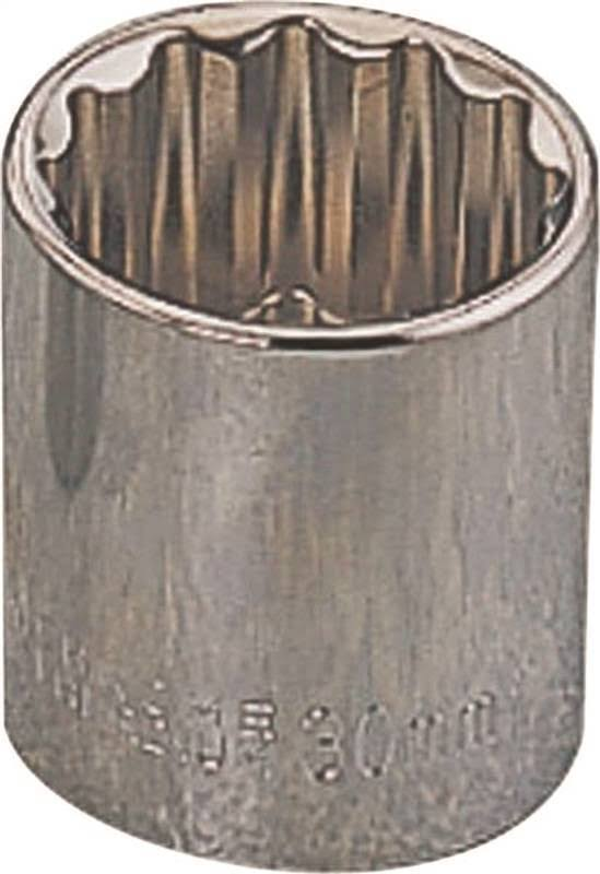 "Mintcraft Standard Socket - 1/2"", 12mm, 12pt"