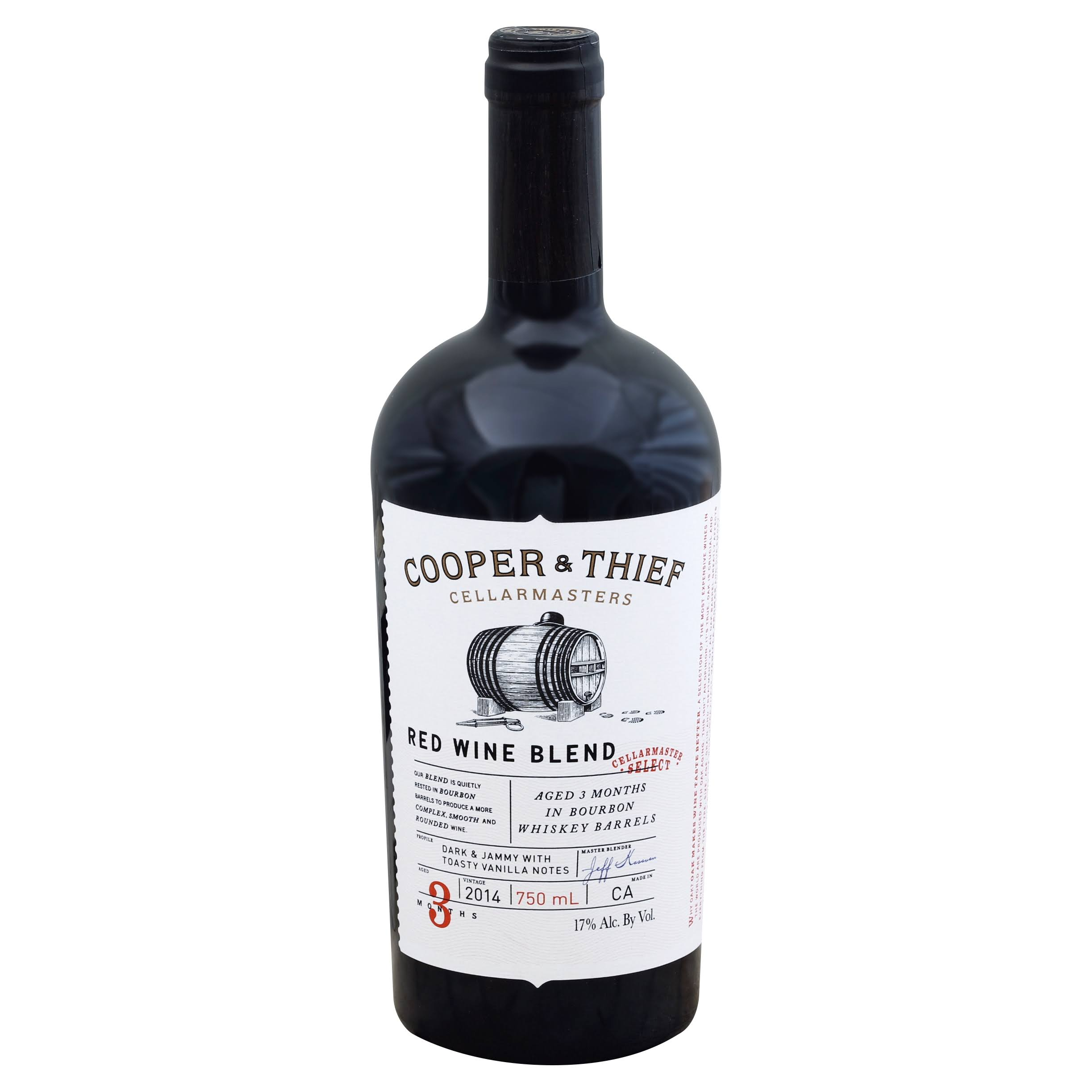Cooper & Thief Red Wine Blend, California, 2014 - 750 ml