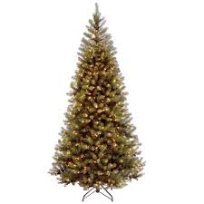 7ft Black Pencil Christmas Tree by Slim Christmas Trees Christmas Decorations The Home Depot