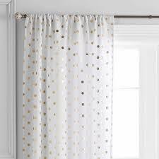 Black Sheer Curtains Walmart by Better Homes And Gardens Polka Dots Curtain Panel Walmart Com