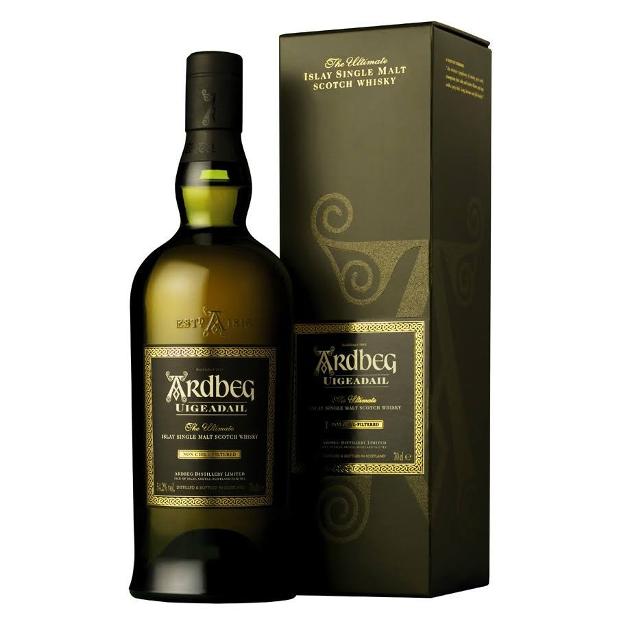 Ardbeg Uigeadail Single Malt Islay Scotch Whisky - 70cl