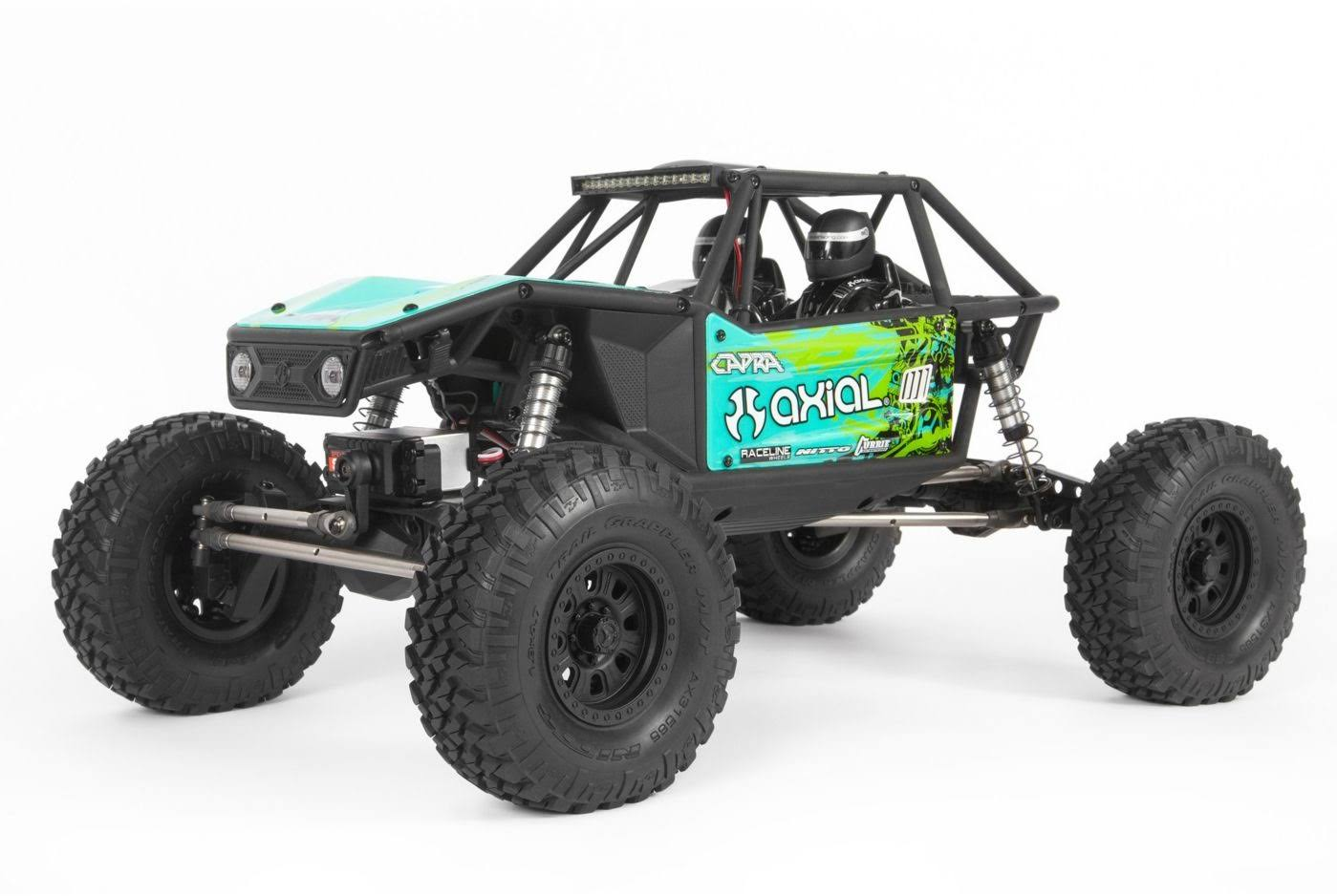 Axial Green 1/10 Capra 1.9 Unlimited 4WD RTR Trail Buggy AXI03000T2