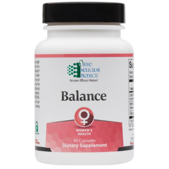 Ortho Molecular Products Balance Dietary Supplement - 60 Capsules