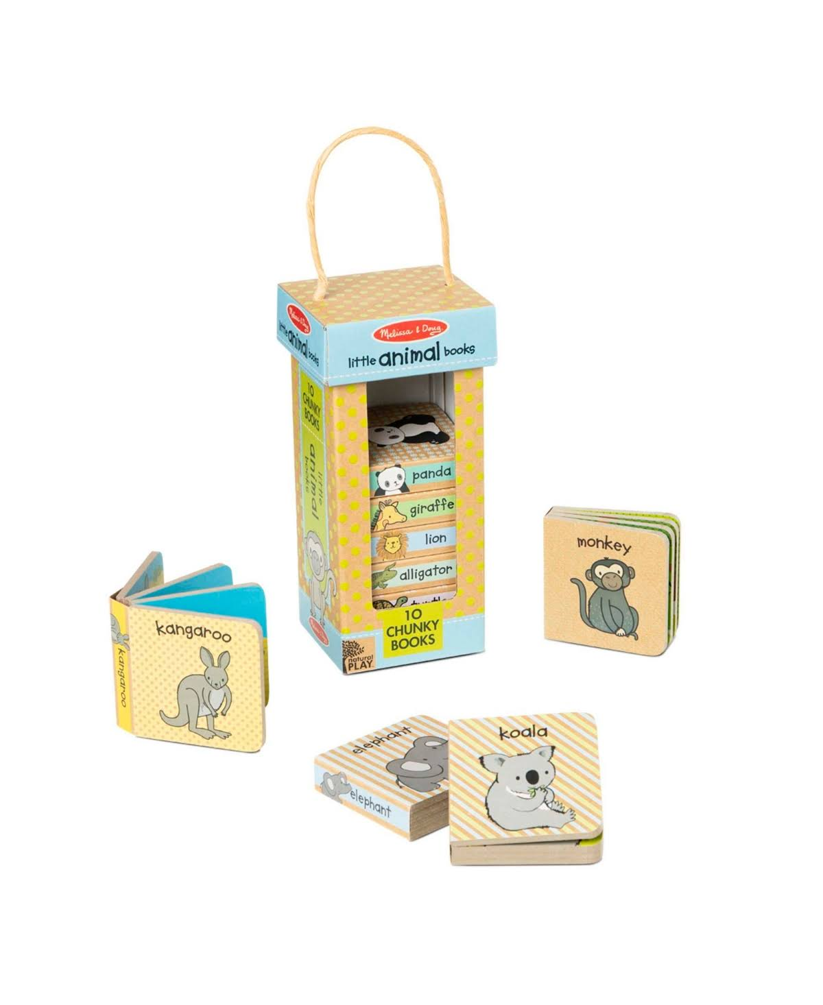 Melissa & Doug Book Tower: Little Animal Books