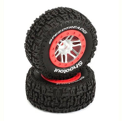 Duratrax F/R SpeedTreads Shootout SC Mounted Tires (2) DTXC2947