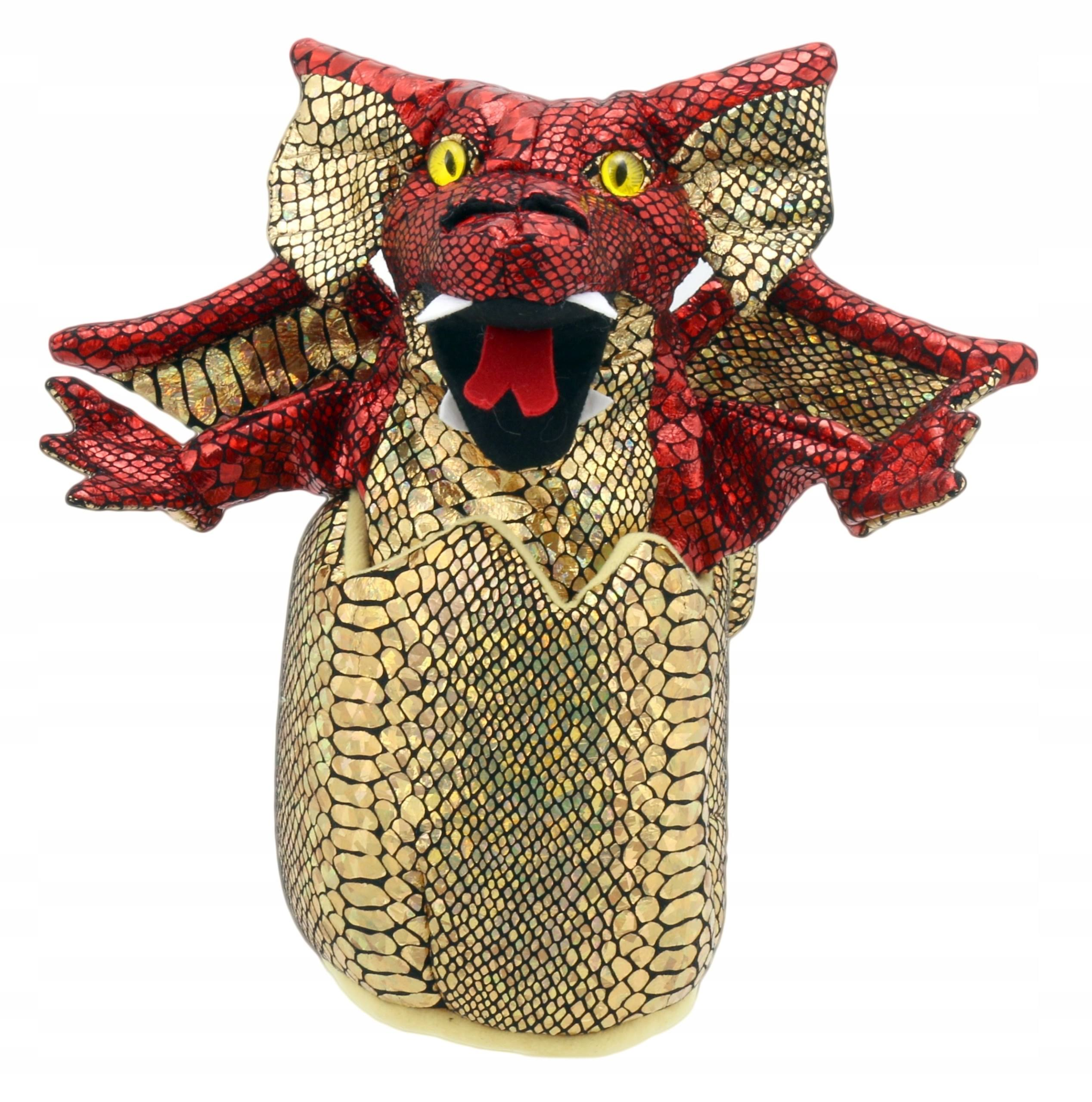 Puppet Company Baby Birds Puppet - Baby Dragon, Red