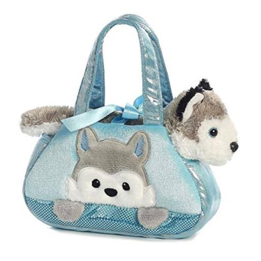 Aurora Fancy Pals - Peek-A-Boo Husky Pet Carrier