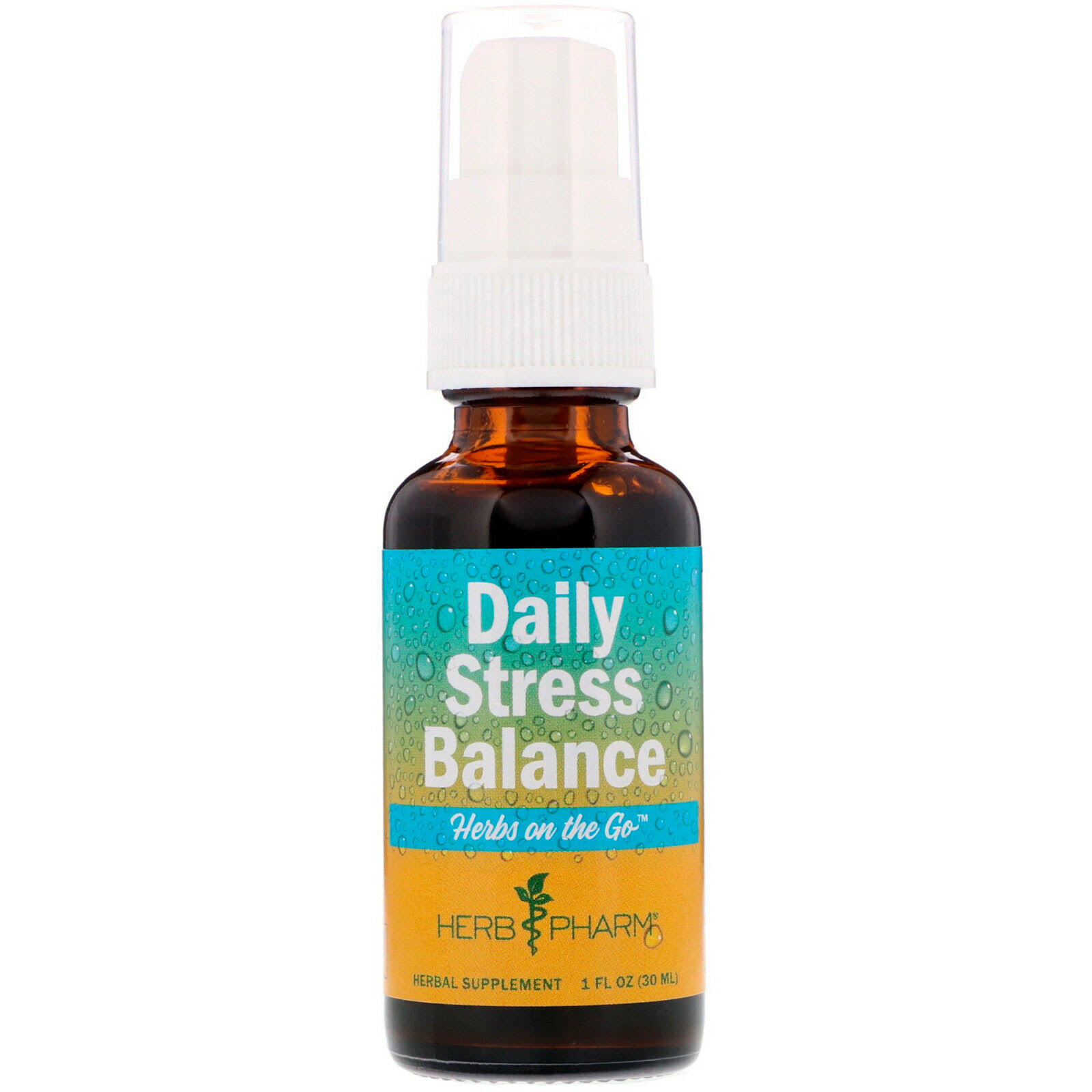 Herb Pharm Herbs On the Go Daily Stress Balance Spray - 1oz
