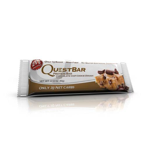QuestBar Protein Bar - Chocolate Chip Cookie Dough, 60g