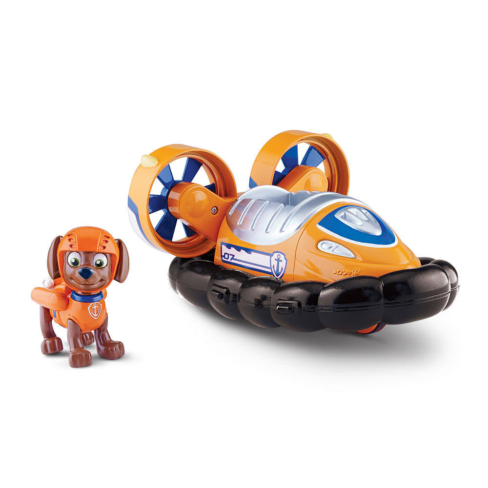 Paw Patrol Zuma's Hovercraft Vehicle with Figure